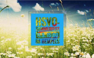 HSVO – Sommerfest 11.09.2021 (ab 15 Uhr)